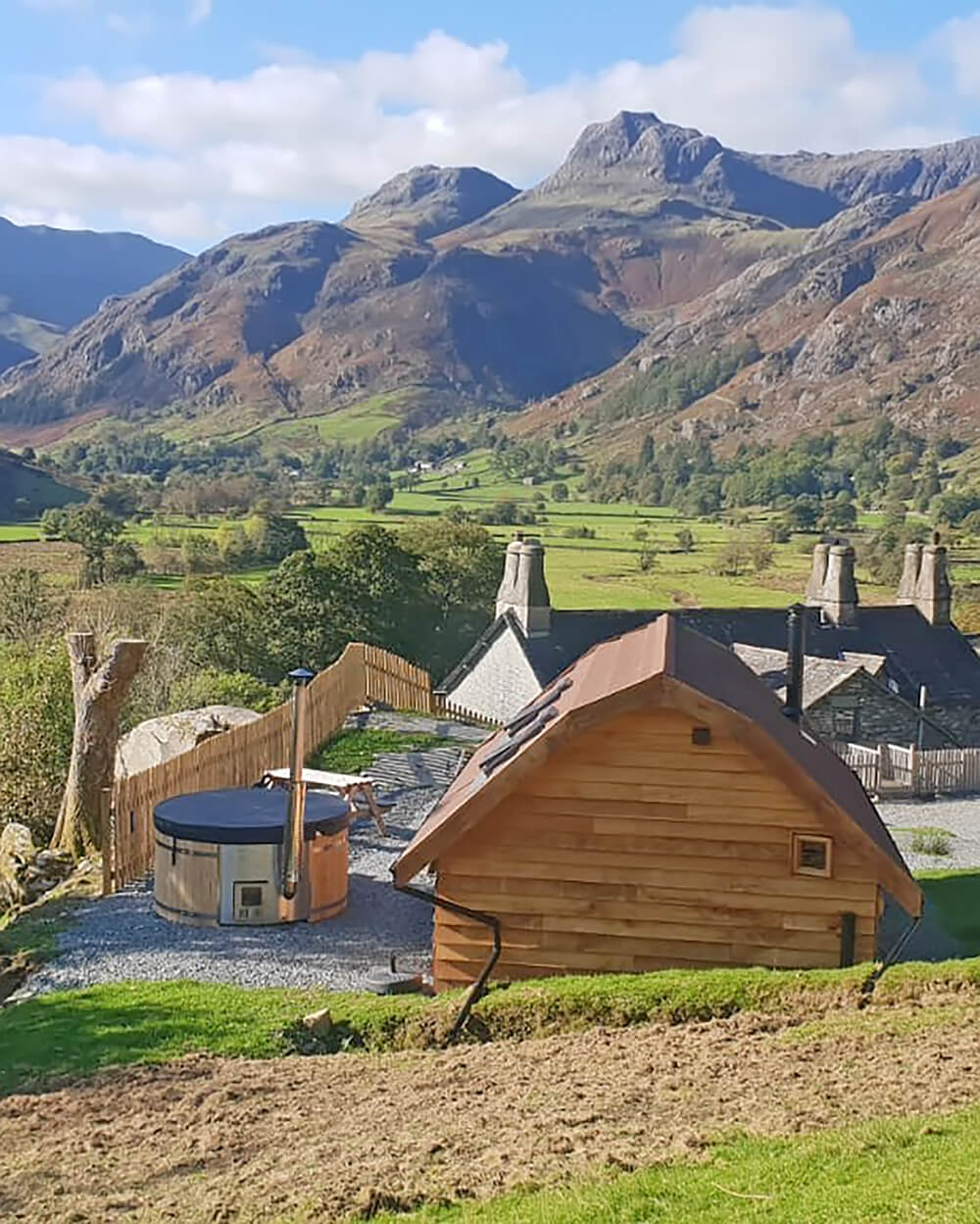 Glamping in the Lake District at Harry Place Farm