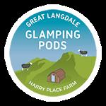 Lake District Glamping. Harry Place Farm, Great Langdale, Ambleside